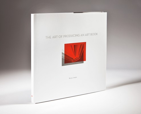 The Art of Producing an Art Book Cover